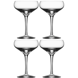 More Champagne Coupe 4-pack